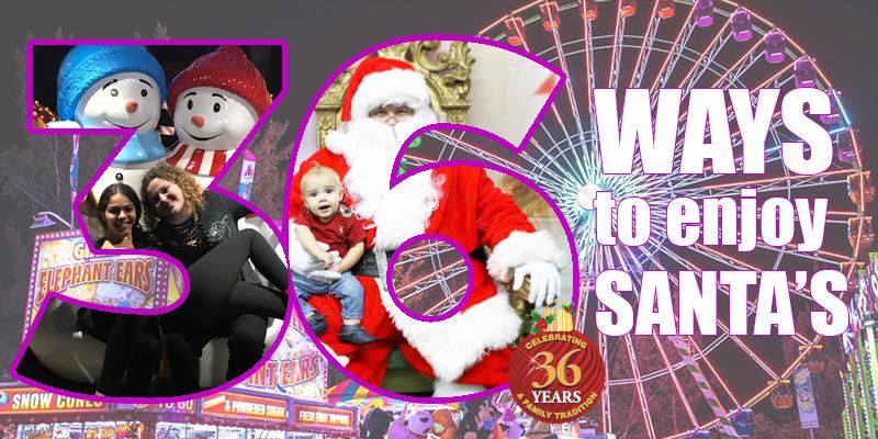 36 Ways to Enjoy Santa's
